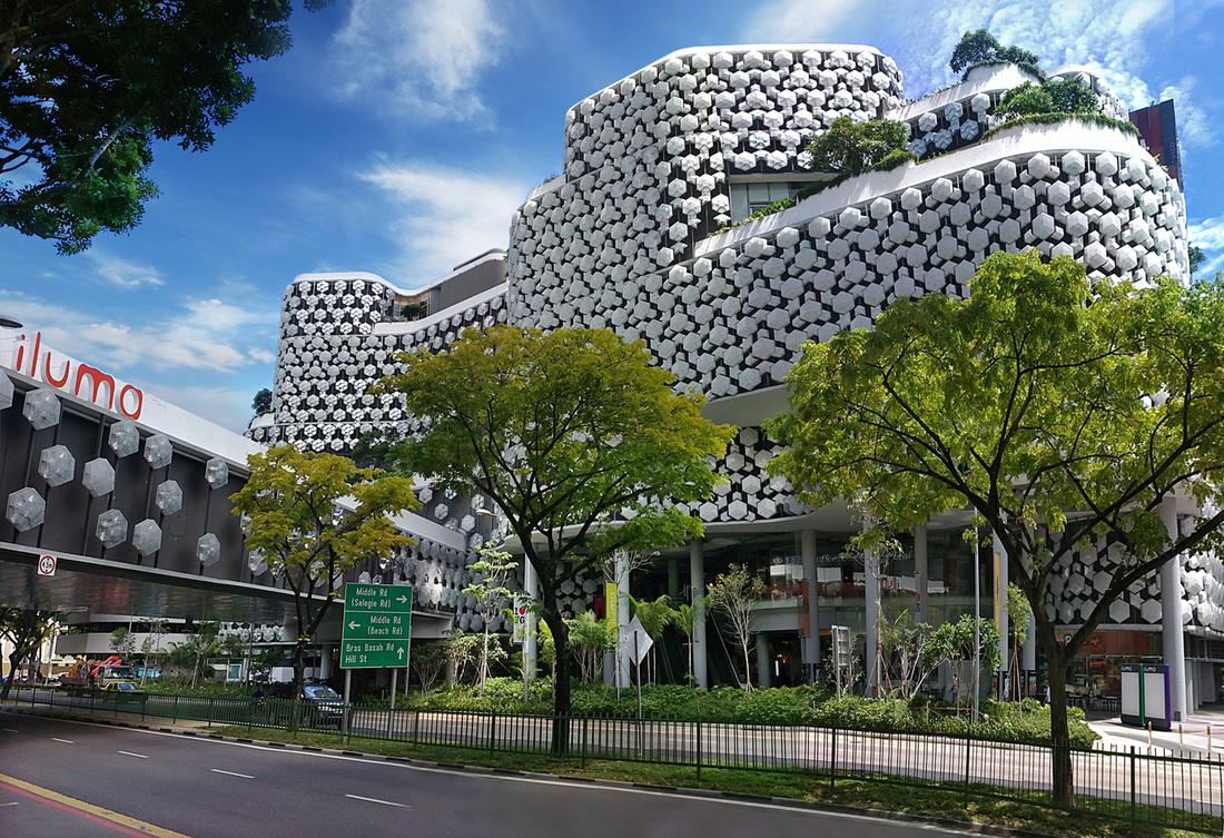 Iluma Singapore By Woha Architects S Cad 2d Drafting 3d